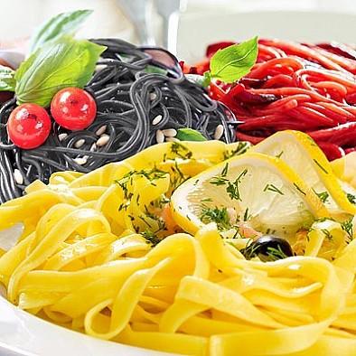 Zkušební balíček 3x Pasta Limone Nero di seppia Peperoncino