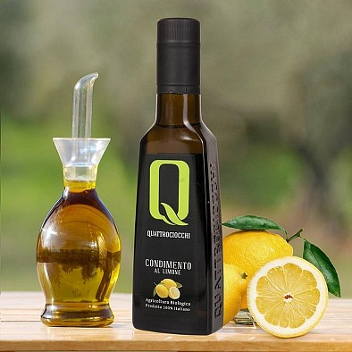 Olivový olej s citronem - Bio kvalita