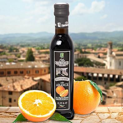Bio pomerančový olivový olej Quattrociocchi