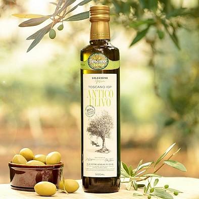 Olio Antico Ulivo - prémiový - olivový olej - 100% Toskánsko IGP