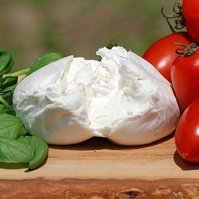 Burrata Bio - sýrová specialita z Itálie