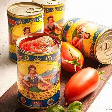 San Marzano výhodné balení 4 konzervy rajčat