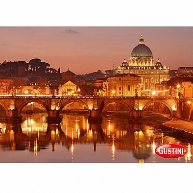 Pohlednice Večer v Římě