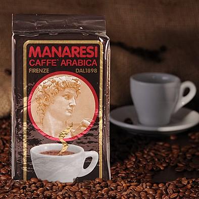 Manaresi Espresso Super Bar Brown 250g mletá