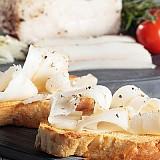 Lardo Bianco - špek z Toskánska